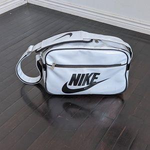 Vintage Nike Swish Duffle Messenger Athletic Gym